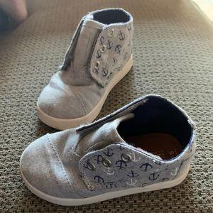 Toms Boys Velcro Shoes